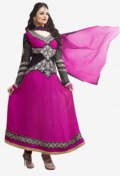 Elegant Collection For Special Occasion:atisundar lovely   in Pink And Black - 5183 - atisundar - 2 - click to zoom