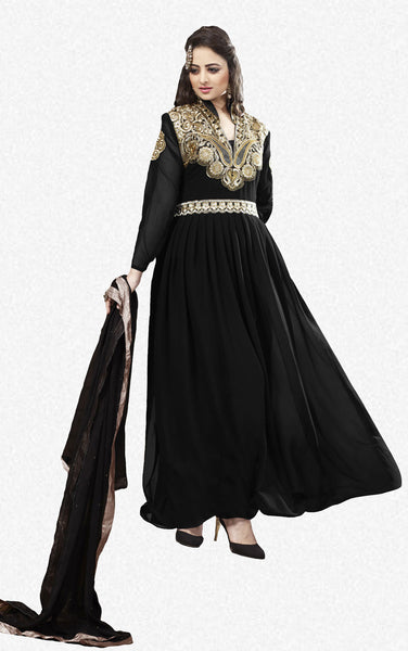 Elegant Collection For Special Occasion:atisundar cute   in Black - 5186 - atisundar - 2 - click to zoom