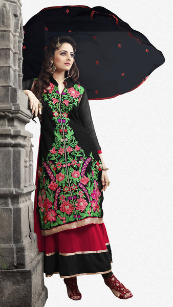 Elegant Collection For Special Occasion:atisundar exquisite   in Black And Red - 5189 - atisundar - 2 - click to zoom