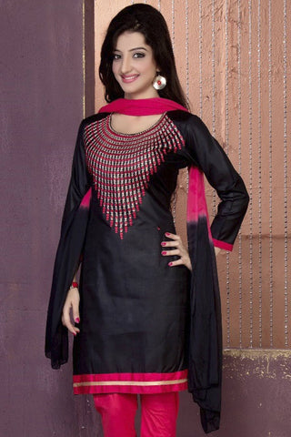 Designer Straight Cut:atisundar angelic Black Designer Party Wear Straight Cut - 12867