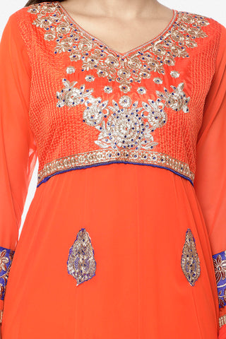 Urvashi Rautela Miss Universe Collection:atisundar marvelous   in Orange - 5256