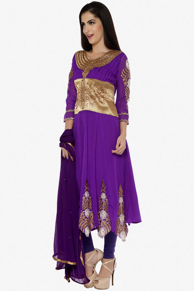 Urvashi Rautela Miss Universe Collection:atisundar Great   in Purple - 5257 - click to zoom