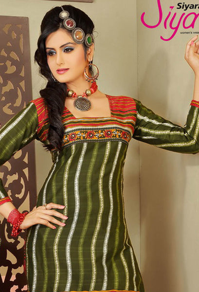 Siya Ayesha:atisundar refined   in Green - 5375 - atisundar - 4 - click to zoom