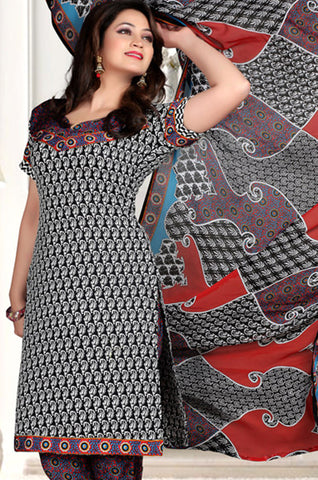 Radiant Print:atisundar fair   in Black - 5546 - atisundar - 3 - click to zoom