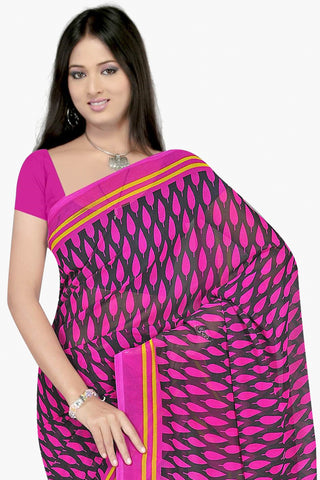 Designer Party wear Saree:atisundar Beautiful Designer Sarees in Pink  - 11463 - atisundar - 2