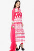 Designer Embroidered Straight Cut In Pure Cotton:atisundar fair   in Pink - 5733 - click to zoom