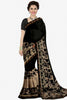 Designer Saree:atisundar Lovely Designer Party Wear Saree in Black  - 13757 - click to zoom