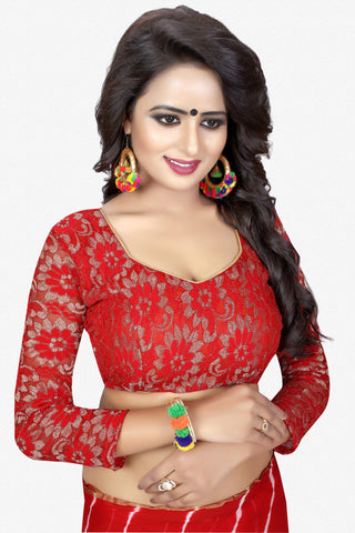 Designer Saree:atisundar appealing Designer Party Wear Saree in Red  - 13762
