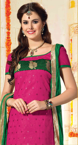 atisundar Karishma: Charismatic Unstitched Embroidered Straight Cut Salwar Kameez - 3746 - atisundar - 5