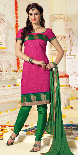 atisundar Karishma: Charismatic Unstitched Embroidered Straight Cut Salwar Kameez - 3746 - atisundar - 3 - click to zoom