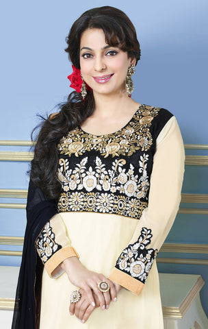 The Juhi Chawla Collection:atisundar admirable   in Cream - 5204 - atisundar - 3