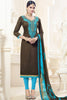 Designer Straight Cut:atisundar fascinating Black Designer Party Wear Straight Cut - 12825 - click to zoom
