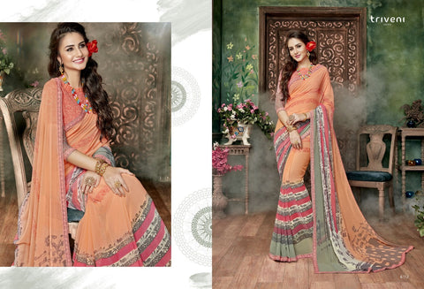 Pushpak By Triveni Sarees