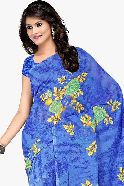 Designer Party wear Saree:atisundar admirable Designer Sarees in Light Blue  - 11481 - click to zoom