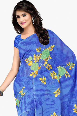 Designer Party wear Saree:atisundar admirable Designer Sarees in Light Blue  - 11481 - atisundar - 2 - click to zoom