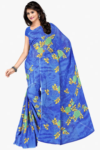 Designer Party wear Saree:atisundar admirable Designer Sarees in Light Blue  - 11481 - atisundar - 1 - click to zoom