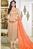 Designer Straight Cut:atisundar ravishing Cream Summer Cotton Suits - 13107 - click to zoom