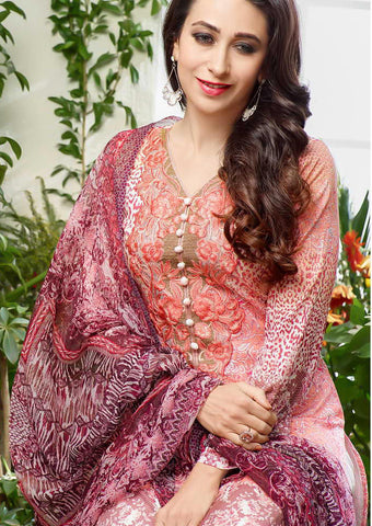 The karishma Kapoor Collection!:atisundar splendid Pink Designer Straight Cut  - 7907 - atisundar - 4