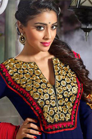 Shriya:atisundar excellent   in Navy Blue - 4953