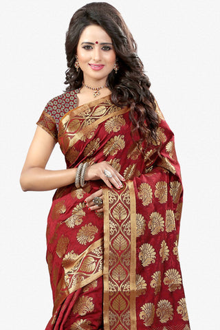 Designer Saree:atisundar enticing Designer Party Wear Saree in Red  - 12788