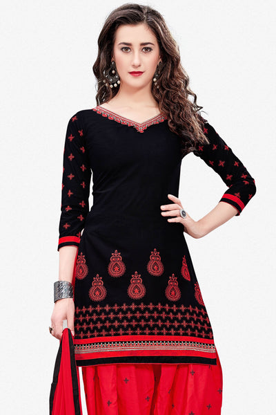 Designer Straight Cut:atisundar bewitching Black Designer Party Wear Straight Cut - 13709 - click to zoom