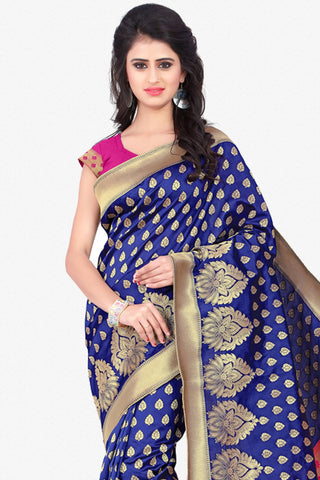 Designer Saree:atisundar wonderful Designer Party Wear Saree in Blue  - 12789