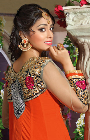 Shriya:atisundar Smart   in Orange - 4958 - atisundar - 4