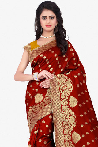 Designer Saree:atisundar beauteous Designer Party Wear Saree in Red  - 12792