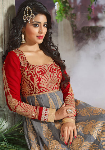 Shriya:atisundar pretty   in Gray And Red - 4962 - atisundar - 4