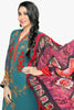 Atisundar bewitching  Blue Embroidery on Printed Faux Georgette - 10464 - atisundar - 2 - click to zoom
