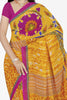 Designer Saree:atisundar excellent Designer Saree in Faux Georgette in Yellow  - 11659 - atisundar - 2 - click to zoom