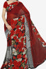 Designer Saree:atisundar classy Designer Saree in Faux Georgette in Red  - 11671 - atisundar - 1 - click to zoom