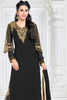 Designer Straight Cut:atisundar admirable Black Designer Embroidered Straight Cut Featuring Karishma Kapoor - 12725 - click to zoom