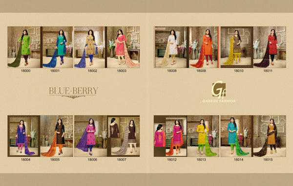 Blue-Berry By Ganesh Fashion - click to zoom