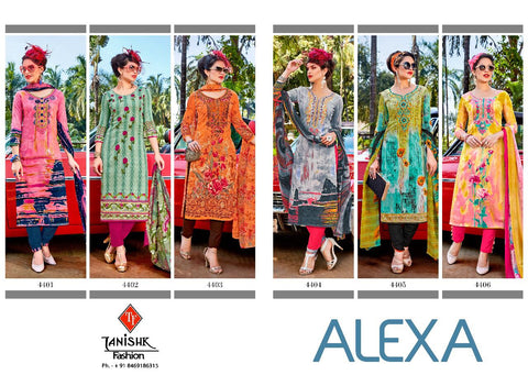 Alexa By Tanishk Fashion