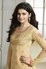 The Prachi Desai Collection:atisundar wonderful Yellow Designer Embroidered Partywear Suits in Straight Cut - 10496 - atisundar - 6 - click to zoom