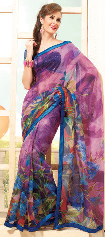 atisundar Gorgeous Multi Colored Saree - 3913 - atisundar - 1 - click to zoom