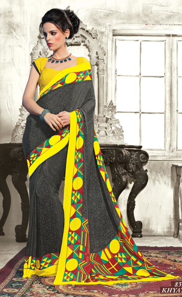 atisundar Superb Black Colored Saree - 3494 - atisundar - 3 - click to zoom