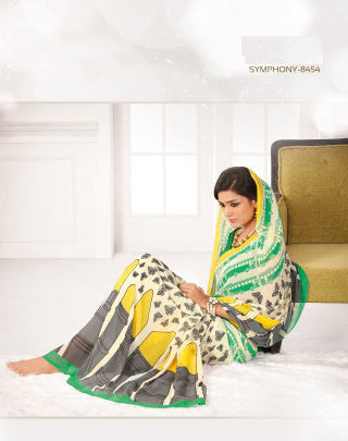 atisundar Angelic Off-White Colored Saree - 3273 - atisundar - 1 - click to zoom