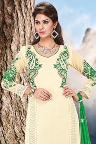 atisundar Shachi: Awesome Unstitched Salwar Kameez - 3026 - click to zoom