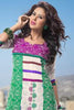 atisundar Rameshwari: Superb Unstitched Salwar Kameez In Green - 3017 - click to zoom