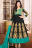 Designer Anarkali:atisundar Smart Black Designer Embroidered Anarkali - 10675 - atisundar - 1 - click to zoom