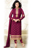 Designer Straight Cut:atisundar marvelous Maroon Designer Embroidered Straight Cut - 10598 - atisundar - 1 - click to zoom