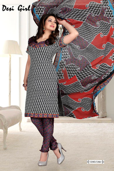 Radiant Print:atisundar fair   in Black - 5546 - click to zoom
