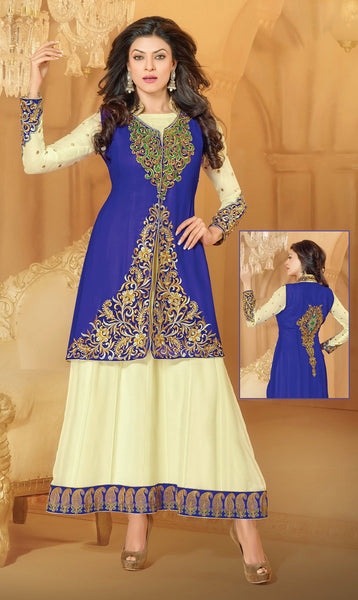 Mayeri Featuring Sushmita Sen:atisundar admirable   in Blue And Cream  - 4868 - click to zoom