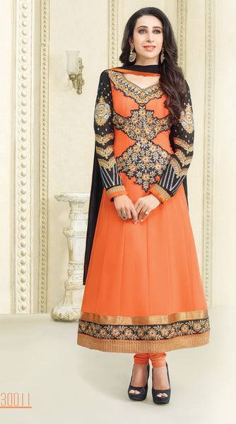 The Karishma Kapoor Collection:atisundar divine   in Orange - 5090 - atisundar - 2 - click to zoom