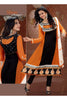 Party Wear Anarkalis:atisundar marvelous   in Mustard And Black - 4806 - atisundar - 2 - click to zoom