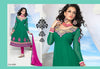 atisundar Ina: Superb Unstitched Salwar Kameez In Green - 3439 - atisundar - 3 - click to zoom