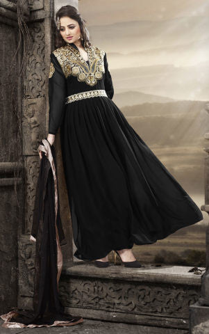 Elegant Collection For Special Occasion:atisundar cute   in Black - 5186 - atisundar - 1 - click to zoom