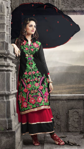 Elegant Collection For Special Occasion:atisundar exquisite   in Black And Red - 5189 - atisundar - 1 - click to zoom